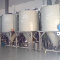 Chitinproduktion Anlage