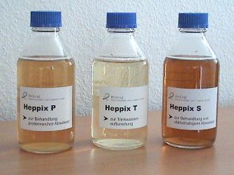 Biologisch abbaubare Flockungsmittel HEPPIX